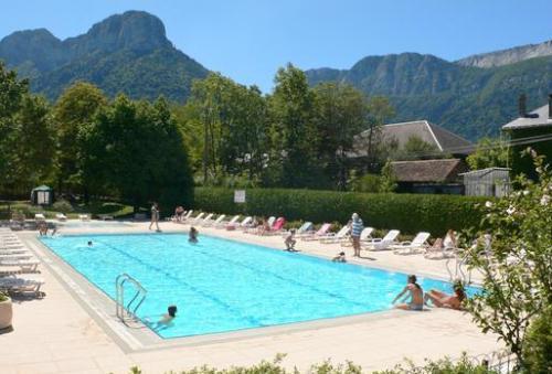 piscine soleil camping