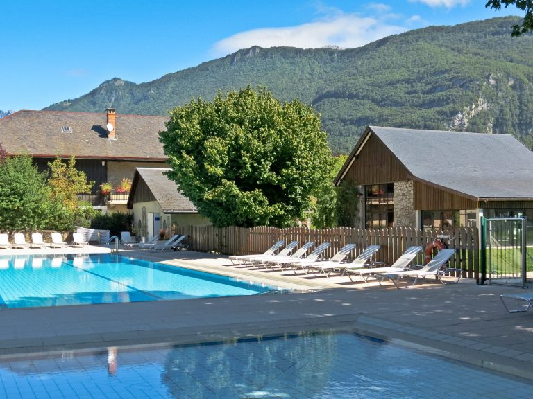 camping Lac Annecy avec piscine