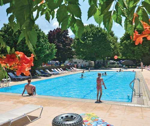 camping piscine lac Annecy