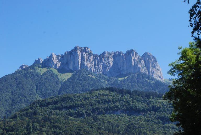 Vue montagnes Annecy