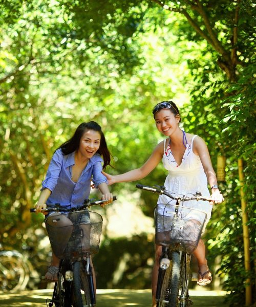 tour du lac en vélo