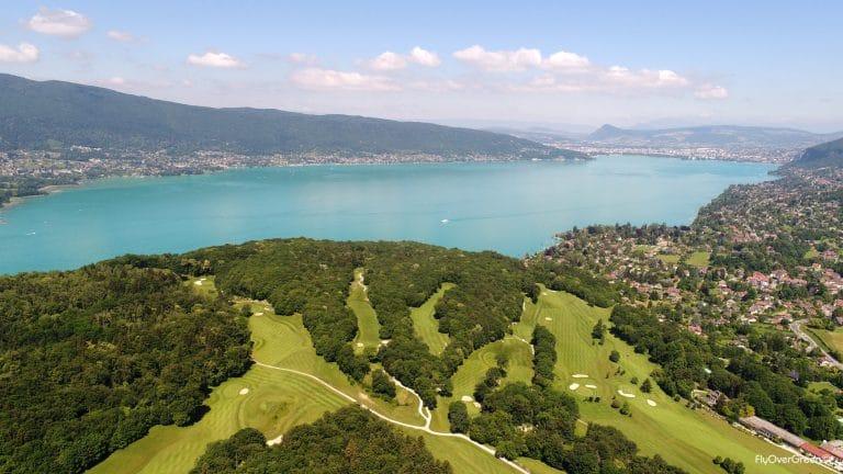 golf lac annecy